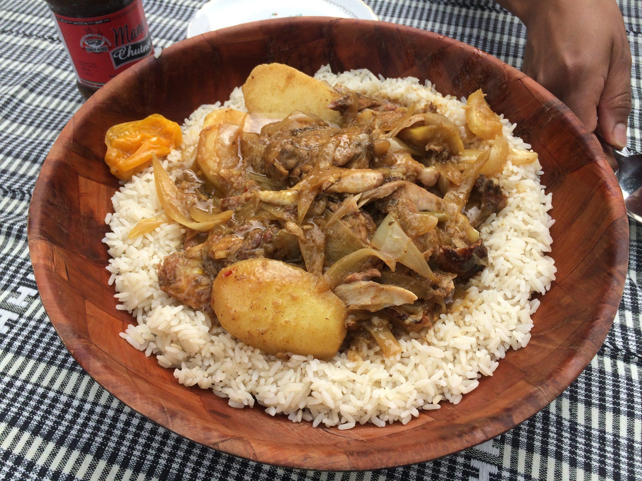We hebben inmiddels meer dan 20 Afikaanse recepten gemaakt, maar dit blijft een favoriet: Senegalese Yassa