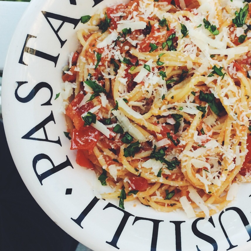 Italië – Spaghetti Carrettiera