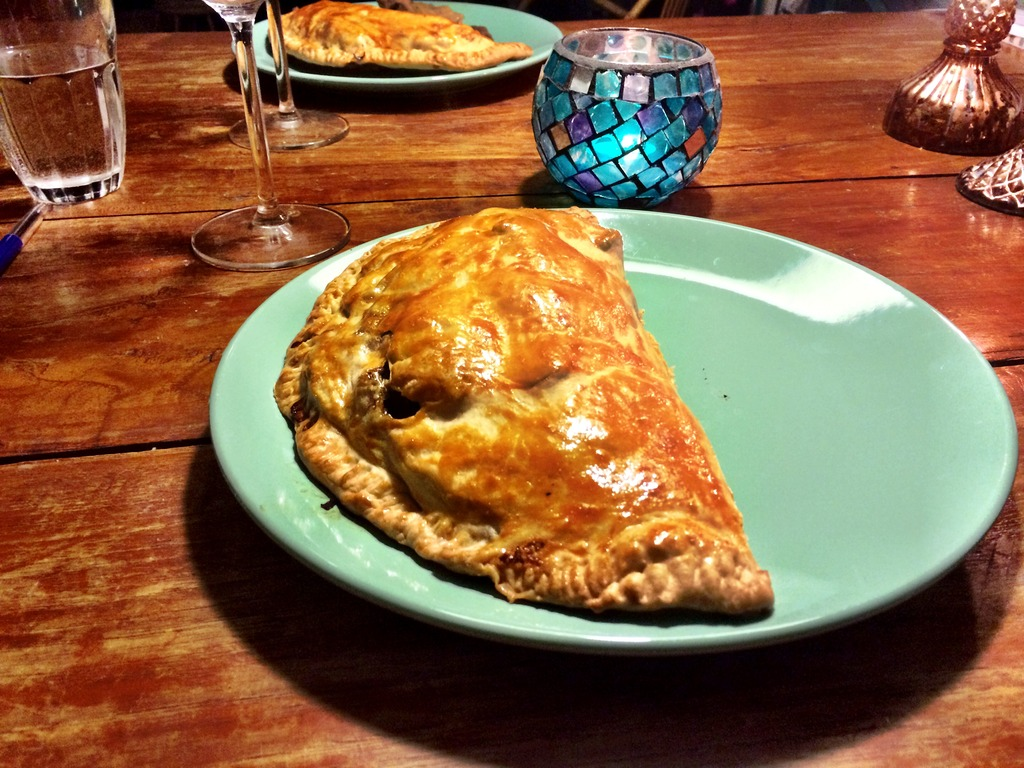 Cornish pasty uit Cornnwall