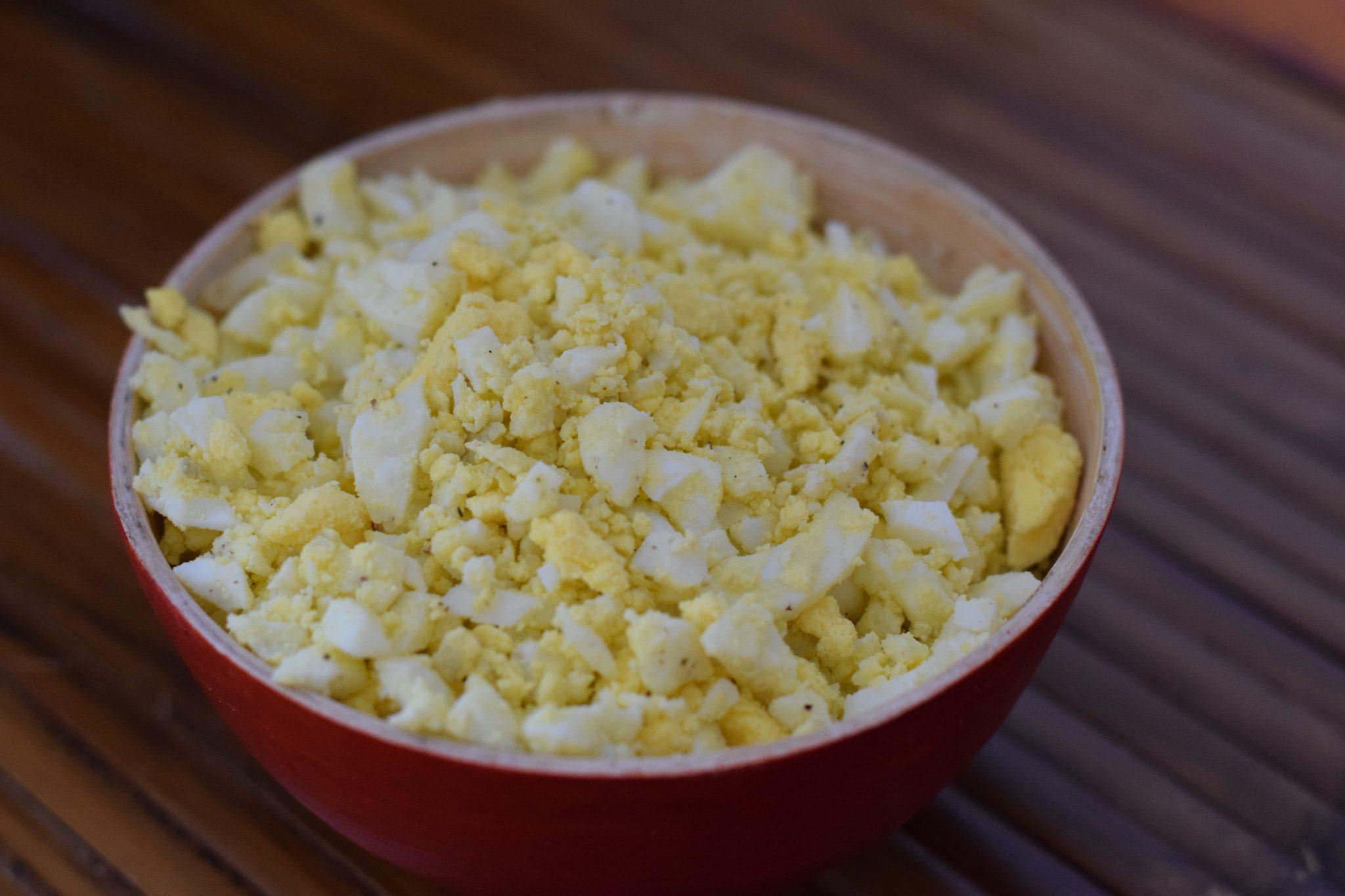 Recept voor Sabih uit Israël - Eieren