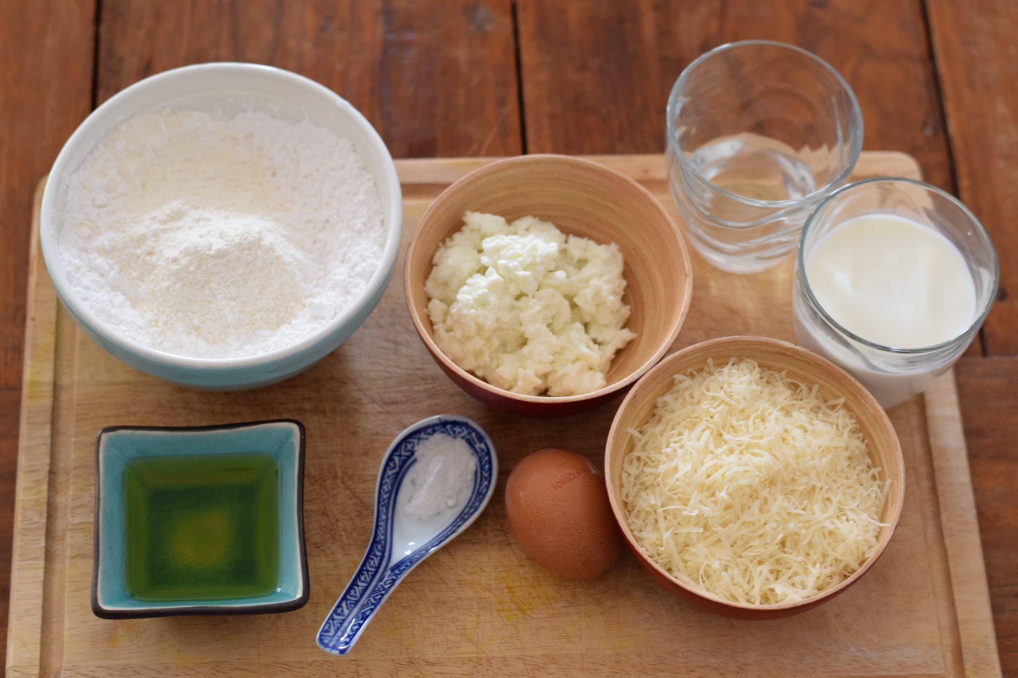 Recept voor Brazilië - Pão de queijo (Braziliaanse kaasbroodjes)