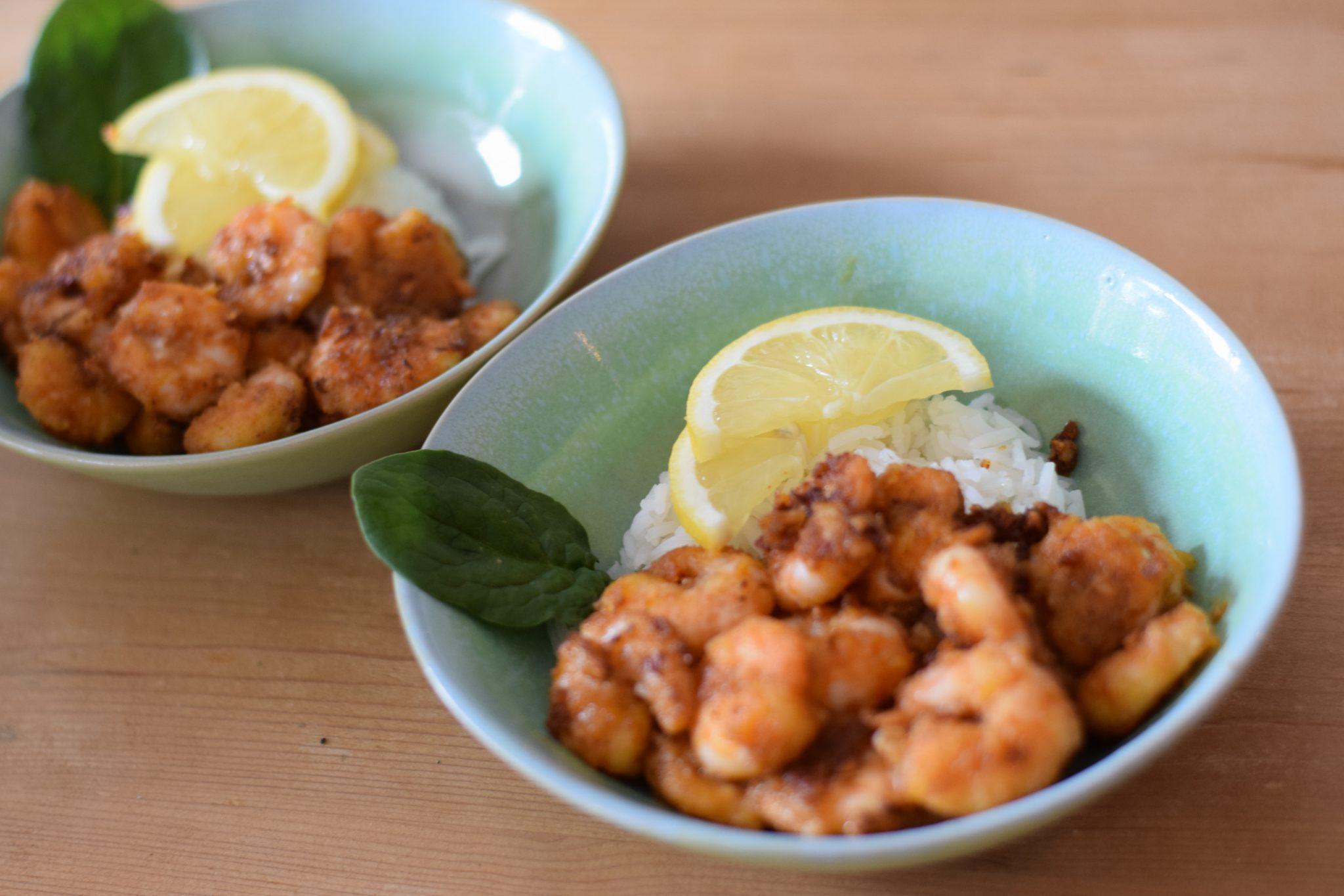 Recept voor Hawaiiaanse knoflook garnalen