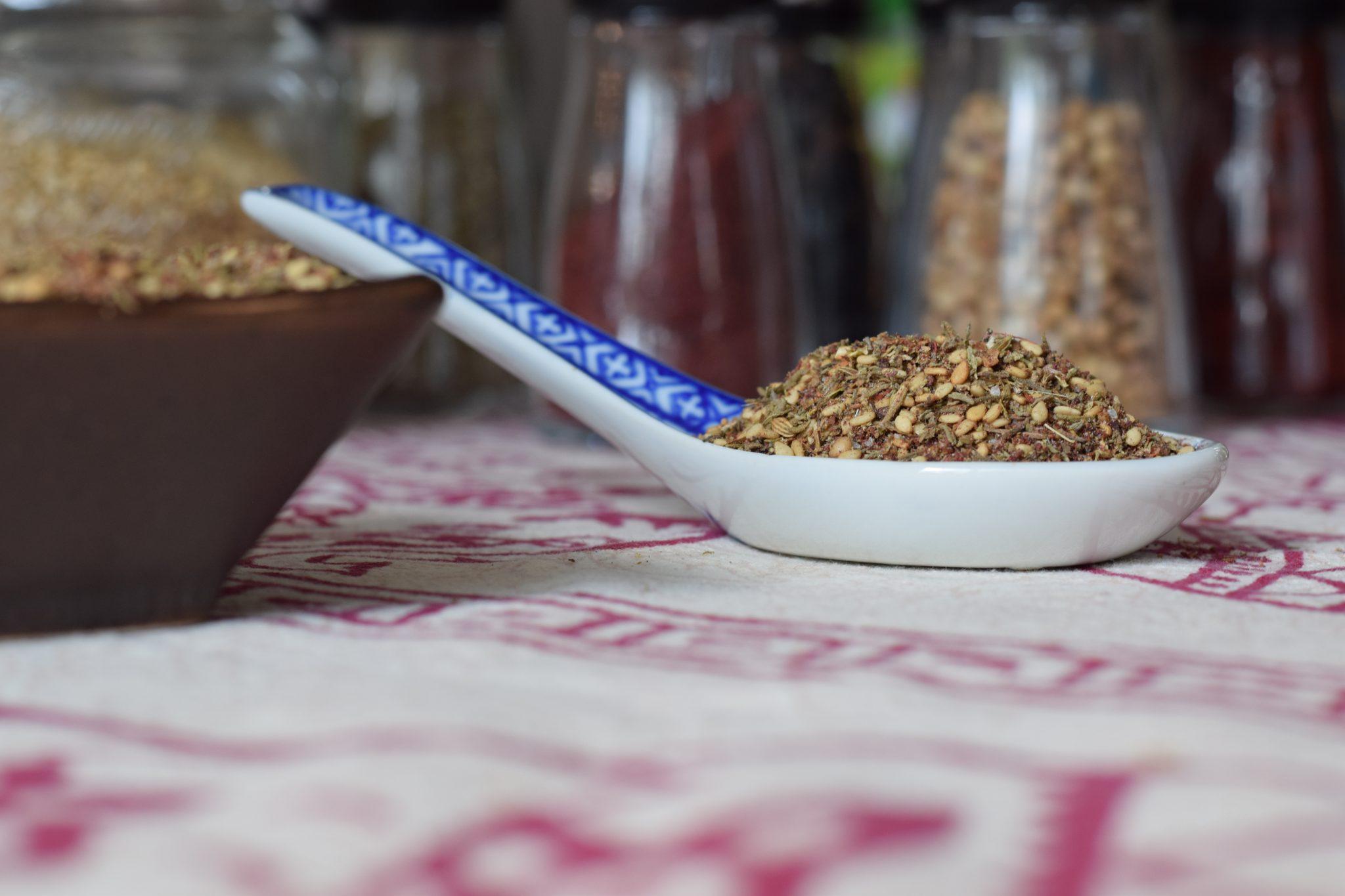 Za'atar - recept voor kruidenmengsel