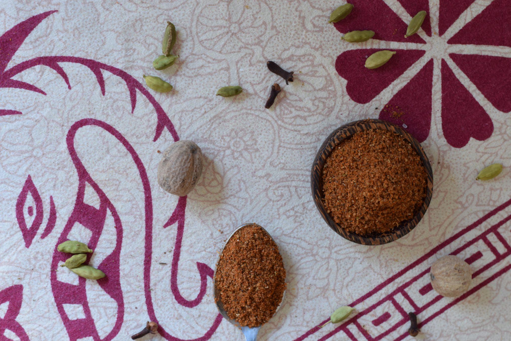 Baharat - recept voor kruidenmengsel - zelf maken