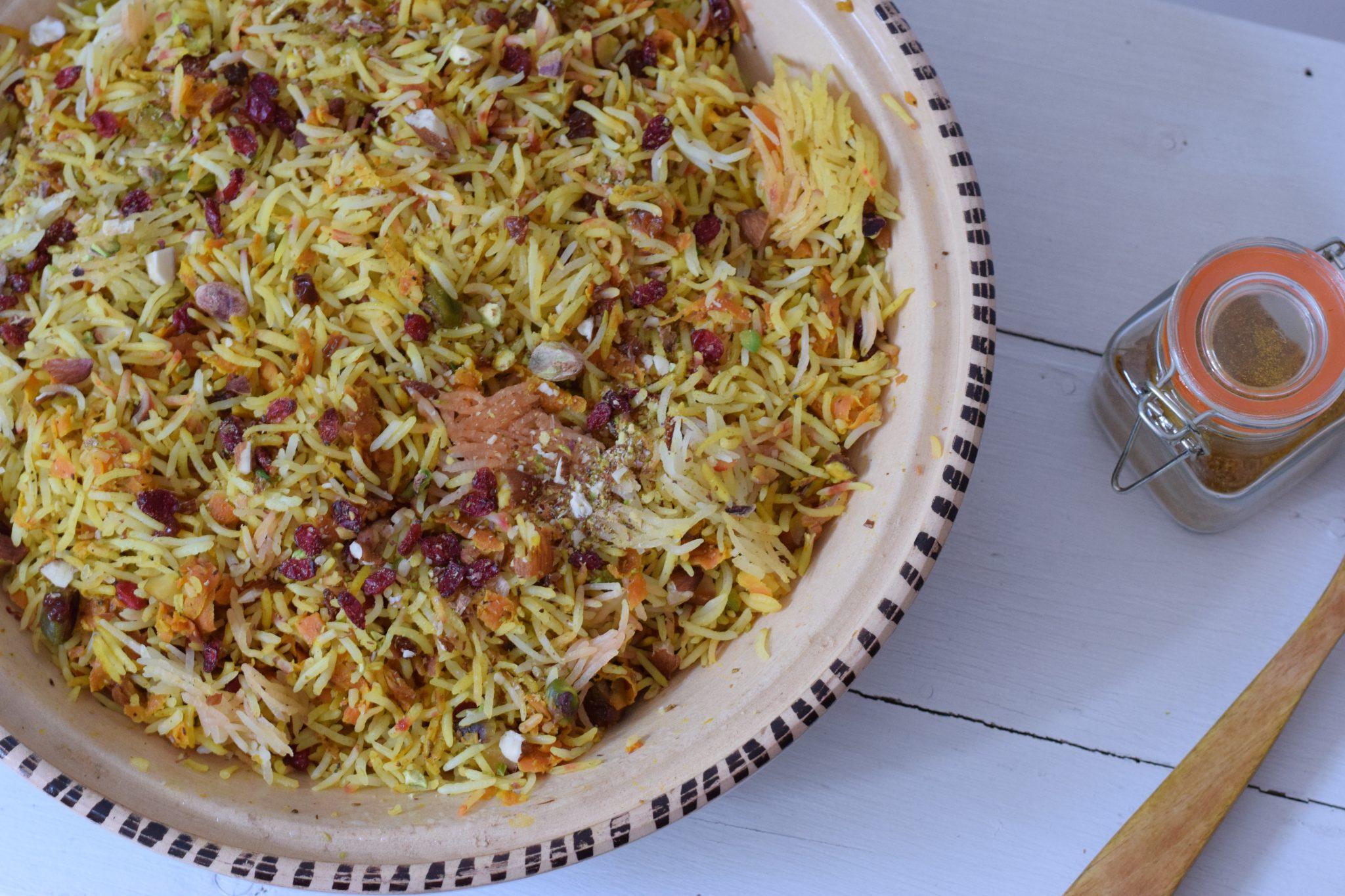Iran Morasa Polow - Recept