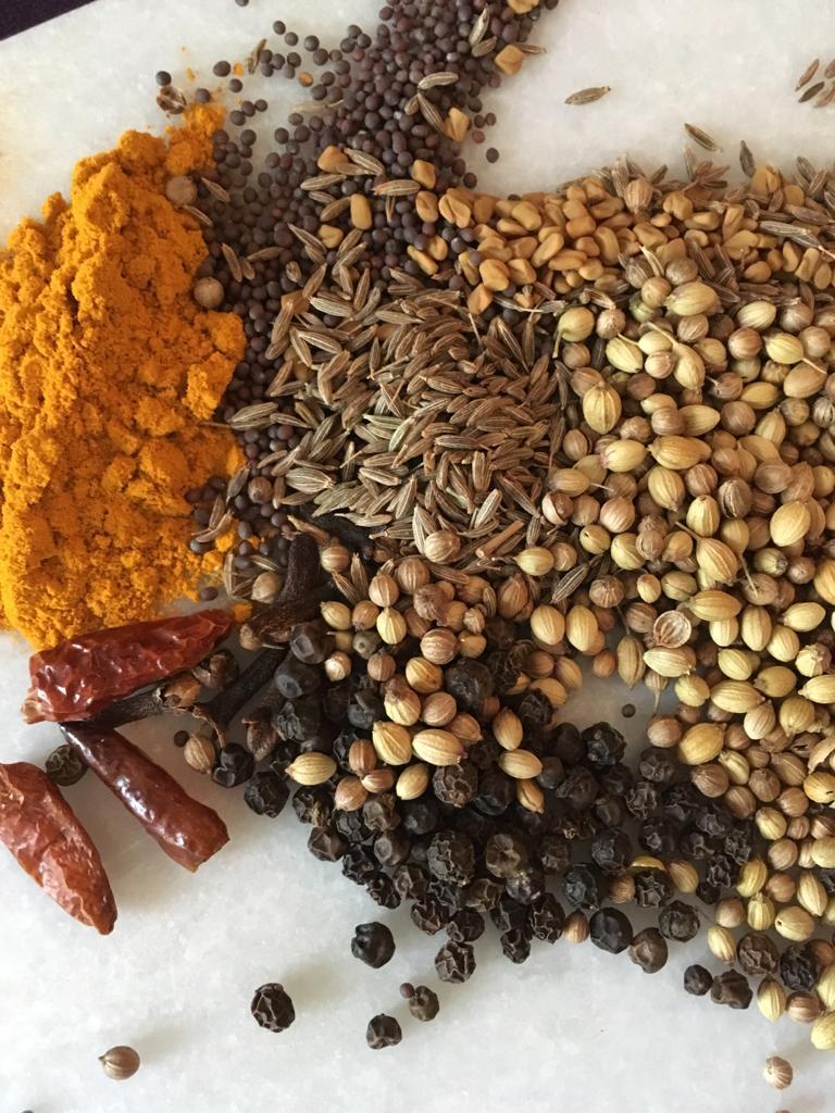 India - recept kerrie kruidenmengsel zelf maken