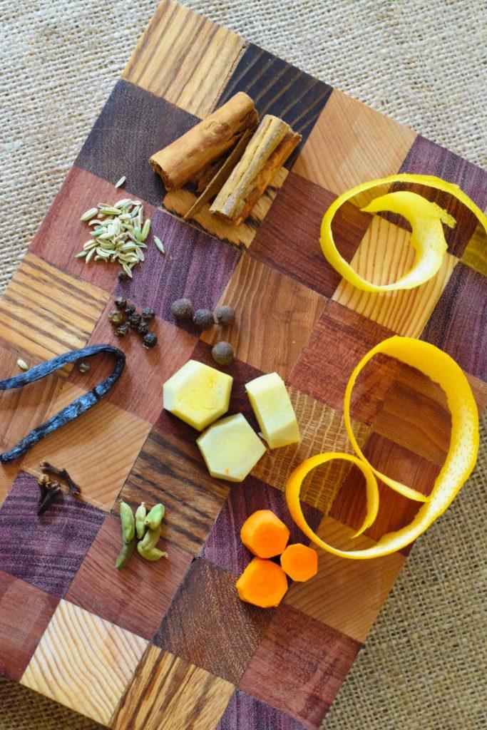 Ingredienten voor Krupnikas uit Litouwen
