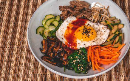 Korea - Bibimbap Recept