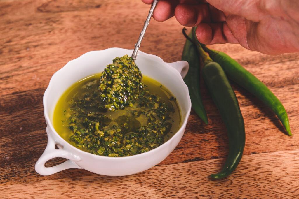 Zhug Recept uit Yemen